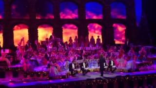 Andre Rieu in Leeds 2016, Bolero with the Falize family, with Ruud Merx's last performance
