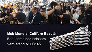 Mcb Mondial Coiffure Beauté 2017 Paris.The latest Vern Scissors-Deluxe Line(Stand NO.L91)