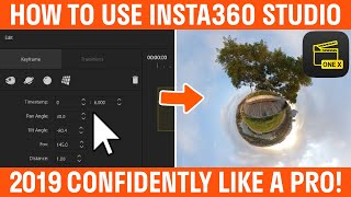 How To Use Insta360 Studio For One X