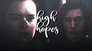 rey + kylo ren/ben solo | high hopes