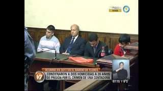 Visión 7: Condenan a dos hombres por el crimen de la contadora que ofreció una venta por Internet