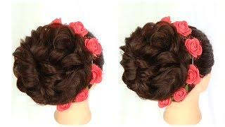 messy bun || heatless hairstyle for party || cute hairstyles || juda hairstyle || prom hairstyles