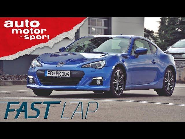 Subaru BRZ: Der Gameboy für große Jungs - Fast Lap | auto motor und sport