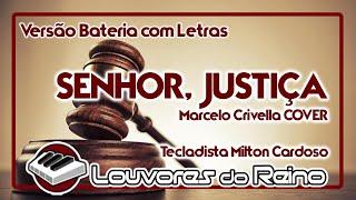 JUSTIÇA (Bateria) - Milton Cardoso [COVER] - Louvores do Reino