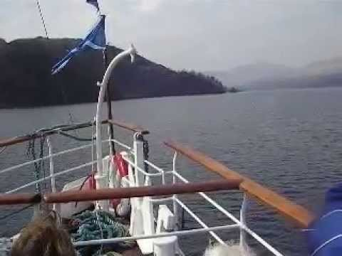 the Sir Walter Scott on Loch Katrine