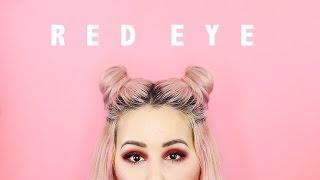 Red Eye Make Up Tutorial! | by tashaleelyn