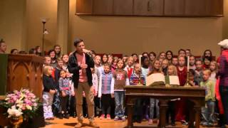 David Archuleta and One Voice Children's Choir Rehearsal for Celebration of Christ