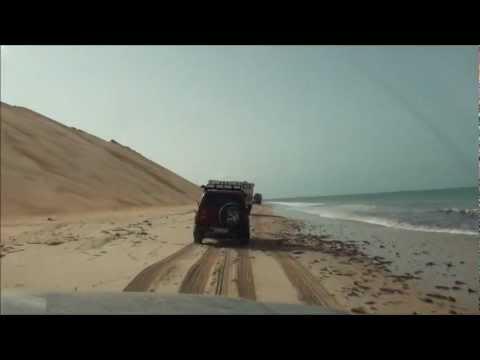 Mauritania   Pista delle maree