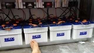 Contoh instalasi pembangkit listrik tenaga surya