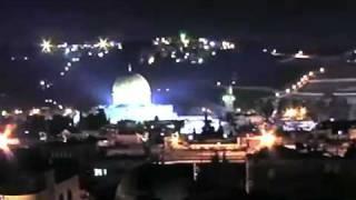 UFOs Buzz Jerusalem. 28th Jan 2011 (2nd camera view)