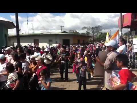 Tópe de Fiestas Patronales en Dolores, Carazo