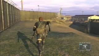 MGSV:GZ 基地の外から基地の中へ戻る