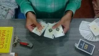O Jogo das 3 Cartas