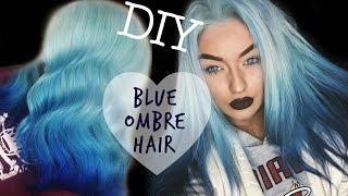 DIY BLUE OMBRE HAIR | My Hair Dye Routine