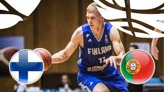 LIVE 🔴 - Finland v Portugal - FIBA U20 European Championship Division B 2018