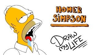 HOMER SIMPSON | Draw My Life
