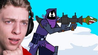 Reacting To THE WORLD'S GREATEST FORTNITE ANIMATIONS!