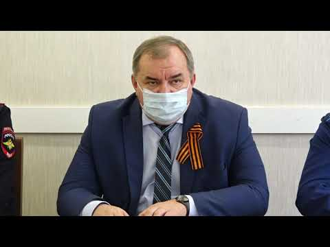 """В Администрации района обсудили введение """"масочного режима"""""""
