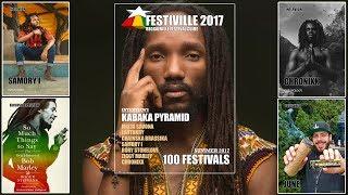 FESTIVILLE 2017 - Reggaeville Festival Guide #OUTNOW