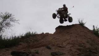 Crazy Downhill Drop from Awesome wall at Badlands