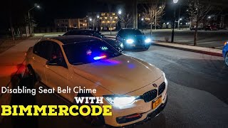 How to disable seat belt warning on e90 bmw coding videos