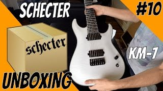 Unboxing #10: New Guitar Day! Schecter KM-7 Keith Merrow