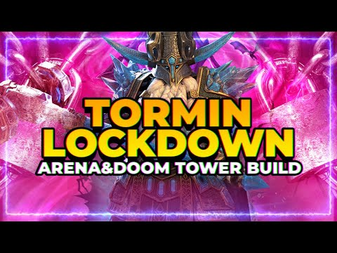LOCKDOWN CC Tormin Build! | Arena & DOOM TOWER! | RAID Shadow Legends