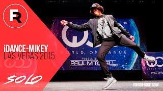 iDance Mikey | SOLO Dance Competition Winner | World of Dance Las Vegas 2015 | #WODVEGAS15