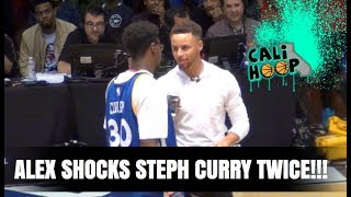 Steph Curry was NOT READY for what Alex did at Kezar after hitting Half Court Buzzer Beater!!!