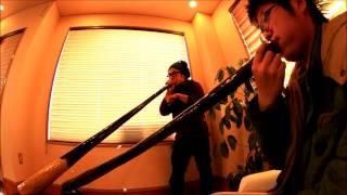 Tatsuki & Road Didgeridoo Duet