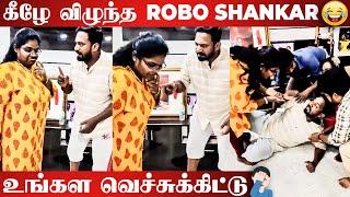 😂Video: Nesamani Character-ஐ Recreate செய்த Robo Shankar | Priyanka Sankar | Indraja Shankar