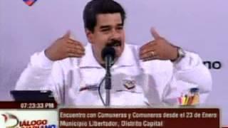 Maduro anuncia el censo de las comunas