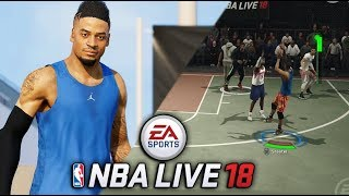 NEW NBA LIVE PARK! NBA LIVE 18 Career Mode Gameplay - The One (FIRST IMPRESSION)