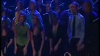 Human Rain and thunder effect Choir
