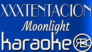 XXXTENTACION - Moonlight | Karaoke Lyrics Instrumental