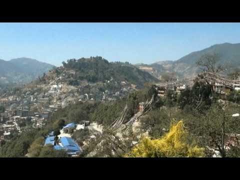 Nepal – stupa  Swayambhunath  w  HD