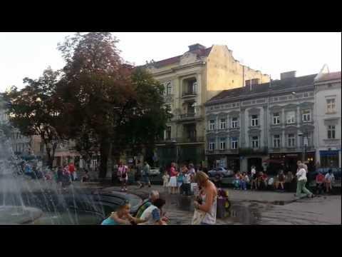 Lviv 20.08.2012 fontan