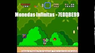 Code Cheats Super Mario World Zsnes