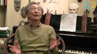 In the studio with Composer Chou Wen-chung