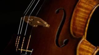 David Milsom playing his new John Cockburn 1715 Stradivari style violin