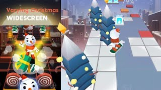 Rolling Sky level 24 Varying Christmas (Widescreen) | Dancing Line news
