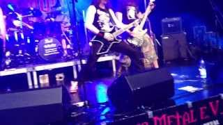 Traitor - For whom the bell tolls (Metallica, just Intro - Live Taunus Metal Festival V 05.07.2013)