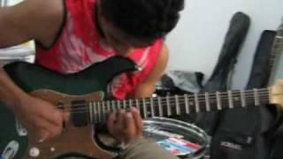 Promoção Cover Guitarra / Tagima Edu Ardanuy - Isolated - Edésio César