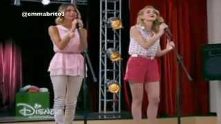 """Violetta 3 - Violetta y Ludmila cantan """"Más que dos"""" (03x75)"""