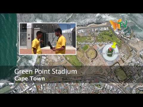 Cape Town Part 1 – Green Point Stadium. South Africa World Cup 2010 Eco Route