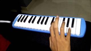 Tutorial Pianika - Lagu Mr.Bean (kartun) Opening Song (cover)