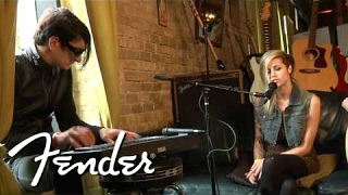 "Shiny Toy Guns Perform ""Somewhere To Hide"" 