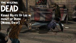 Walking Dead - Kenny Beats Up Lee [Model Swap]