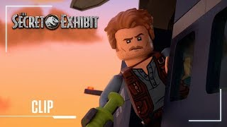 LEGO Jurassic World: The Secret Exhibit | Clip: Pterodactyl Helicopter Chase | Jurassic World width=