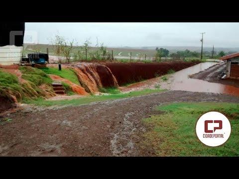 Chuvas causam prejuízos em Ubiratã - Cidade Portal